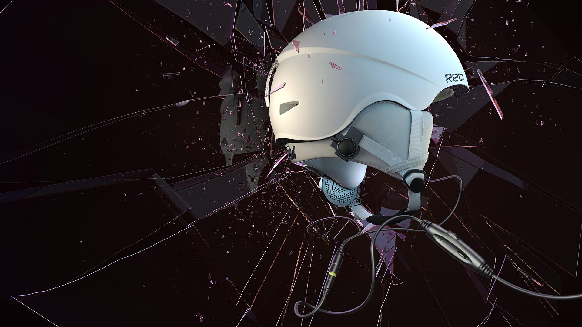Magoo - 3d design, 3d image, RED, Helmets, Burton