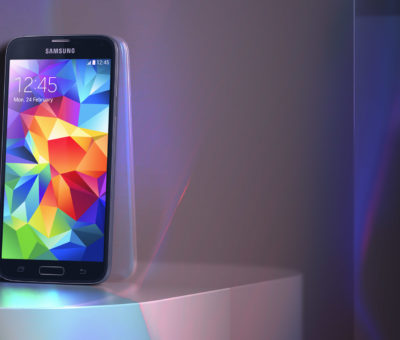 3d design, 3d image, Samsung phone produced by Magoo