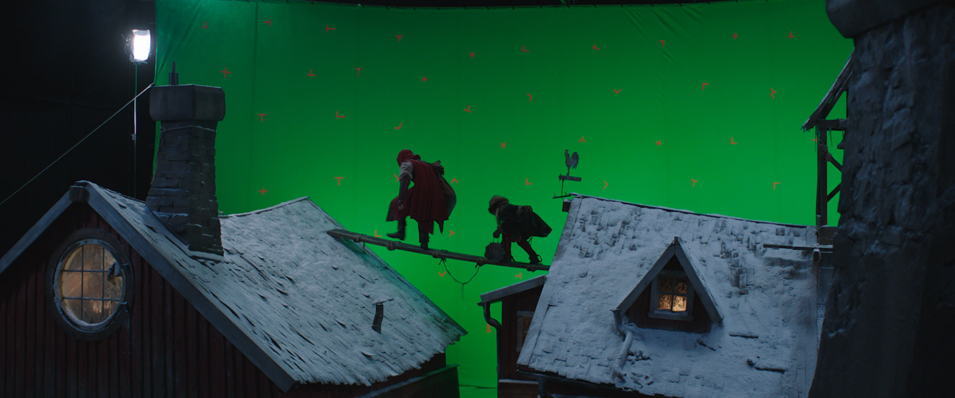 Greenscreen shoot feature film