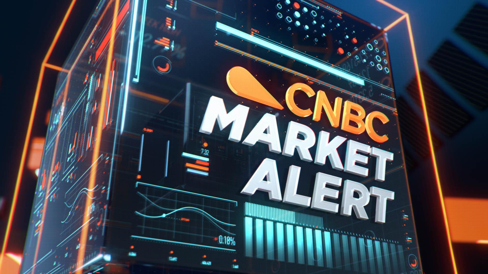 Kanalgrafik till CNBC - 3d animation och Design av TV-grafik till CNBC - Rebrand av CNBC, Idents, TV-idents - Magoo